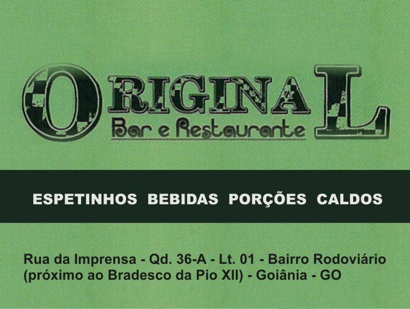 ORIGINAL BAR E RESTAURANTE