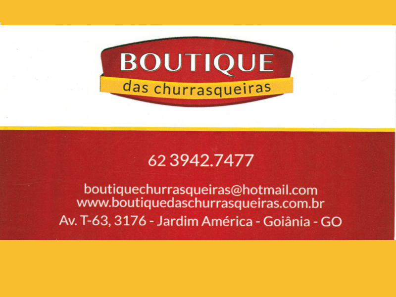 BOUTIQUE DAS CHURRASQUEIRAS