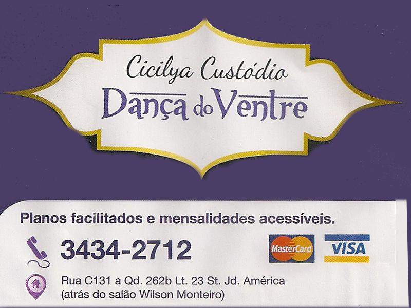 CICILYA CUSTÓDIO DANÇA DO VENTRE